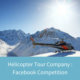 Heli Tours Facebook Competition