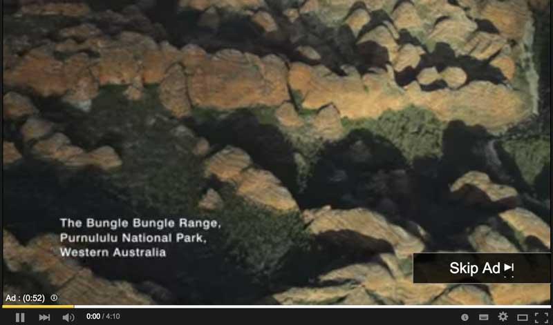 Australia Tourism Advertising on YouTube
