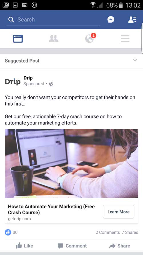 drip-email-marketing-facebook-ad-small