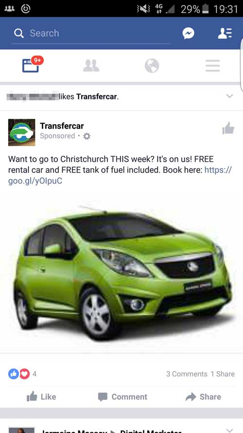 transfer-car-queenstown-facebook-advertising-small