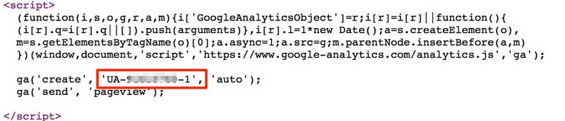Check Google Analytics Is Installed