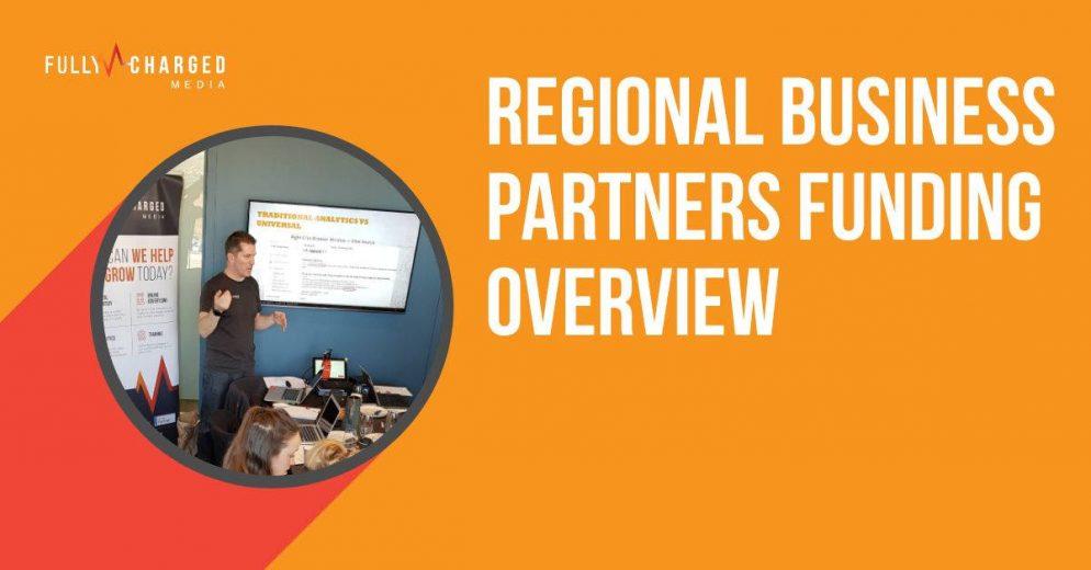 Regional Business Partners Digital Marketing Enablement Funding